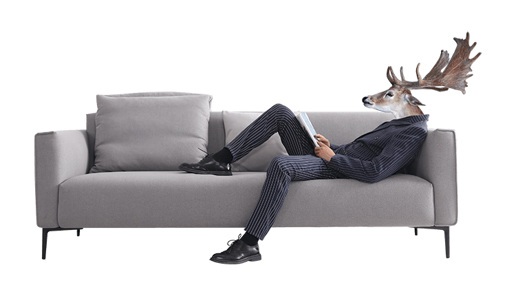 意式极简软体多功能沙发